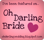 Oh Darling Bride feature badge