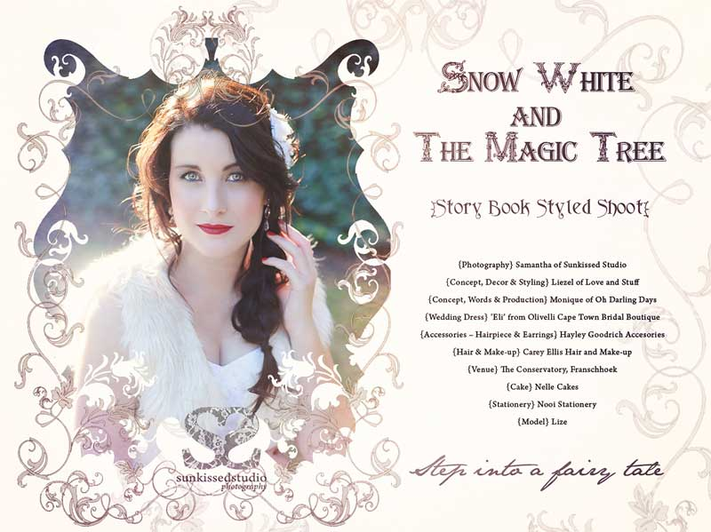 Snow White & The Magic Tree Styled Shoot
